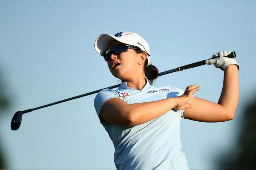 South Korean golfer Kim Sei-young broke the record for fewest strokes over 72 holes with her total of 258.