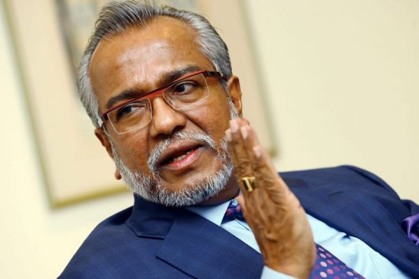 Senior lawyer Muhammad Shafee Abdullah (pictured) has denied claims through a text message that Malaysian prime minister Najib Razak will be charged RM2.4 million (S$806,000) in legal fees.