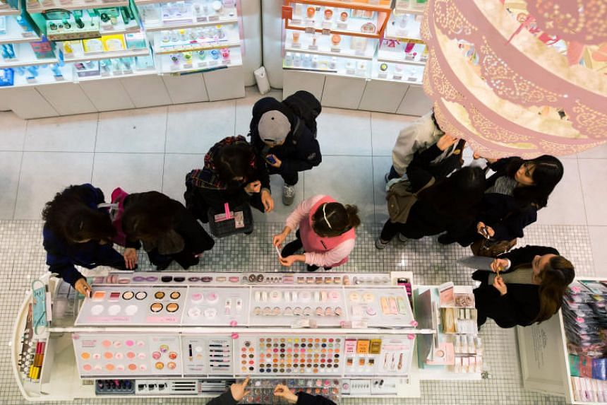 China's own fast-growing cosmetics brands, albeit still small, are driving the revenue growth of South Korean manufacturers.