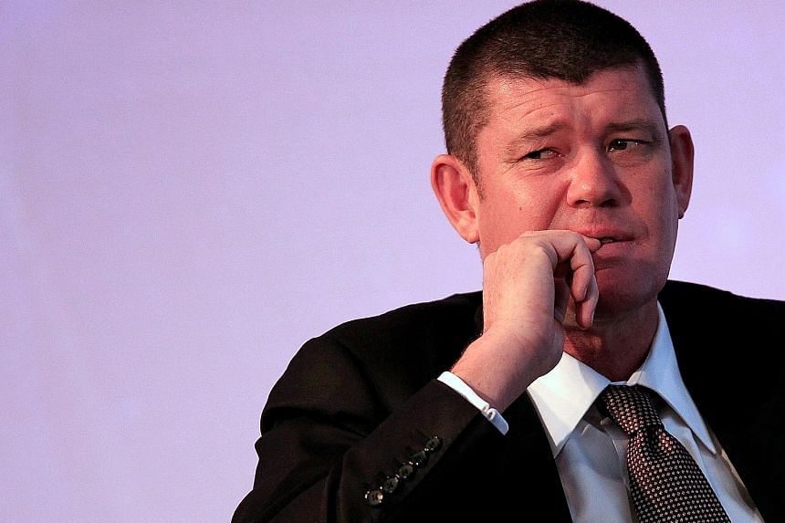 Mr James Packer, seen in a 2013 photo, has resigned from the board of Consolidated Press Holdings, months after stepping down from Crown Resorts, to focus on his recovery from mental health issues.