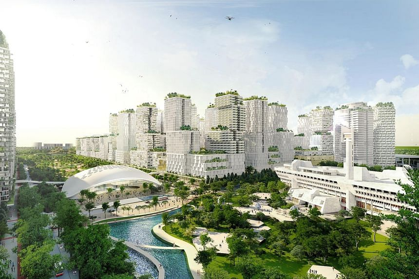 Plans for Jurong Lake District - which has been touted as Singapore's second Central Business District, with the high-speed rail terminus as its centrepiece - include the development of a commercial precinct and building of up to 20,000 new homes.