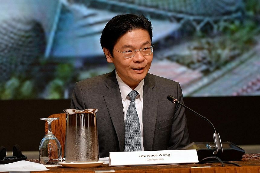 SECOND MINISTER FOR FINANCE LAWRENCE WONG