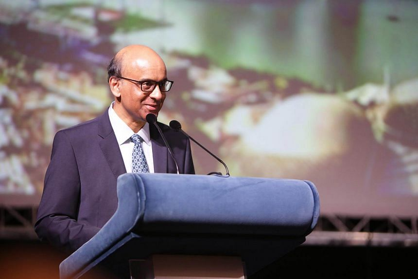 Deputy Prime Minister and Coordinating Minister for Economic and Social Policies Tharman Shanmugaratnam officiated the start of the World Cities Summit, Singapore International Water Week and the CleanEnviro Summit Singapore.