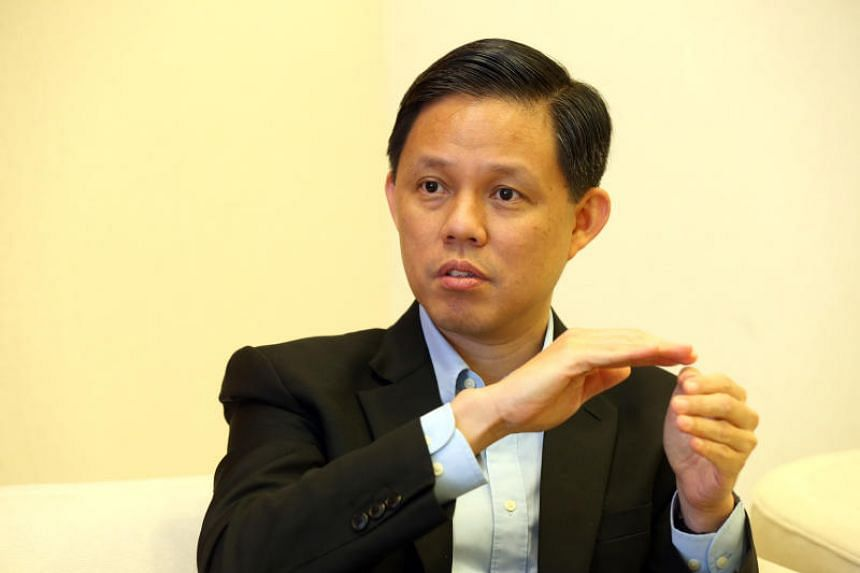 Minister for Trade and Industry Chan Chun Sing said Singapore's biggest challenge is to educate young people to differentiate fake news from real news.
