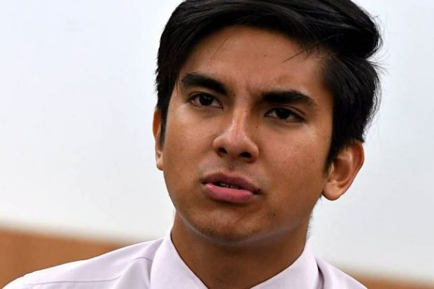 Malaysia's Youth and Sports Minister Syed Saddiq Abdul Rahman's (above) interim press officer said he was quitting after coming under pressure over his activism on lesbian, gay, bisexual and transgender issues.