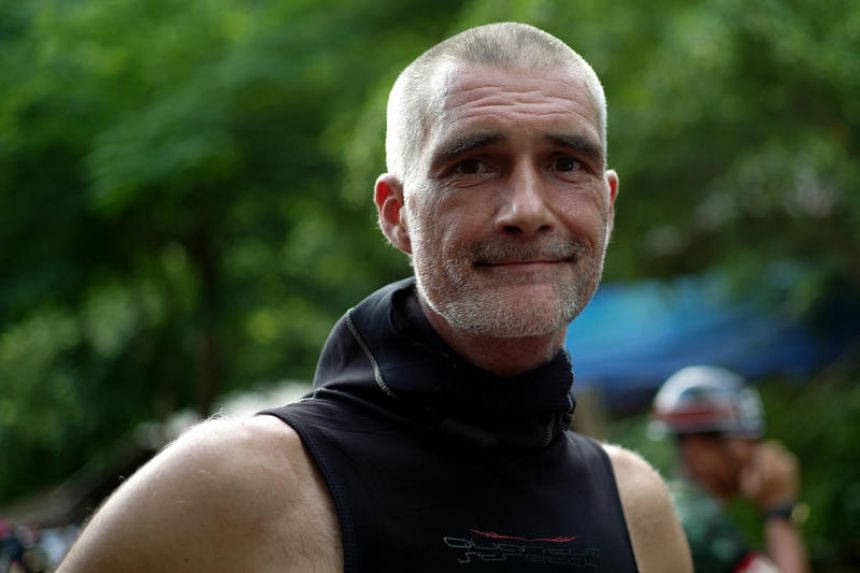 Mr Ivan Karadzic said it is not in any way normal for children to go cave diving at age 11.