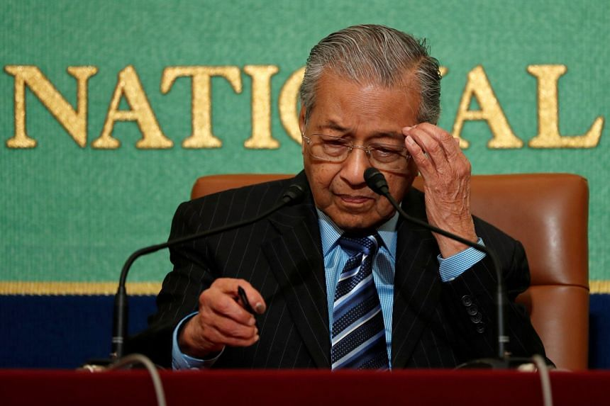 Malaysia's Prime Minister Mahathir Mohamad is also drafting a law to ensure political parties do not return favours to financial donors that support them.