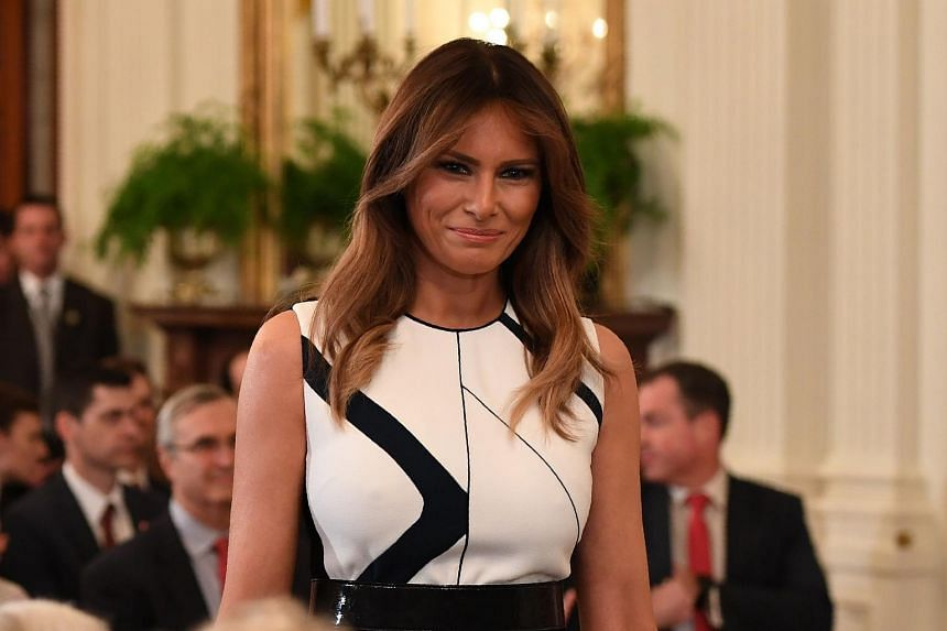 US First Lady Melania Trump will participate in at least two events in Europe, said the President's communications director.