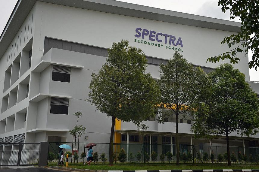 About 15 per cent of teachers in Singapore's four specialised schools, including Spectra Secondary School, have a higher level of training in special needs.
