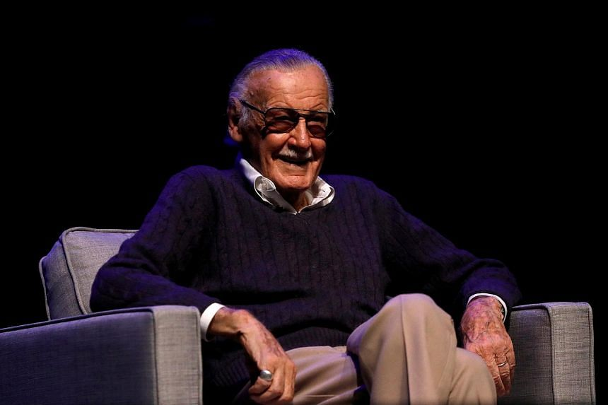 Marvel Comics co-creator Stan Lee attending a tribute event at the Saban Theatre in Beverly Hills, California, on Aug 22, 2017.