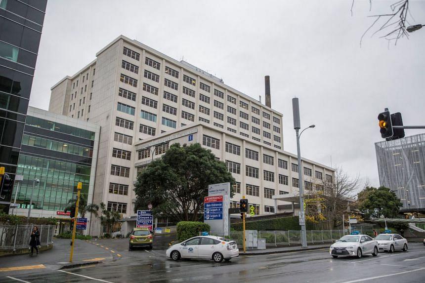File photo showing Auckland City Hospital in New Zealand, on June 21, 2018. More than 30,000 nurses will strike for 24 hours after weeks of failed negotiations