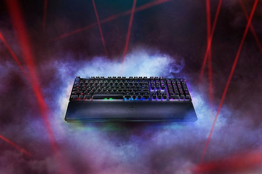 Razer's Huntsman Elite: A Keyboard for work and play, Games & Apps