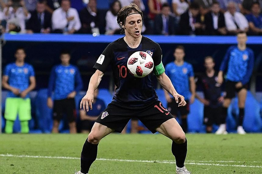 Luka Modric has been an influential player for Croatia and, having won the Champions League with Real Madrid, he could be a Ballon d'Or contender if he wins the World Cup as well.