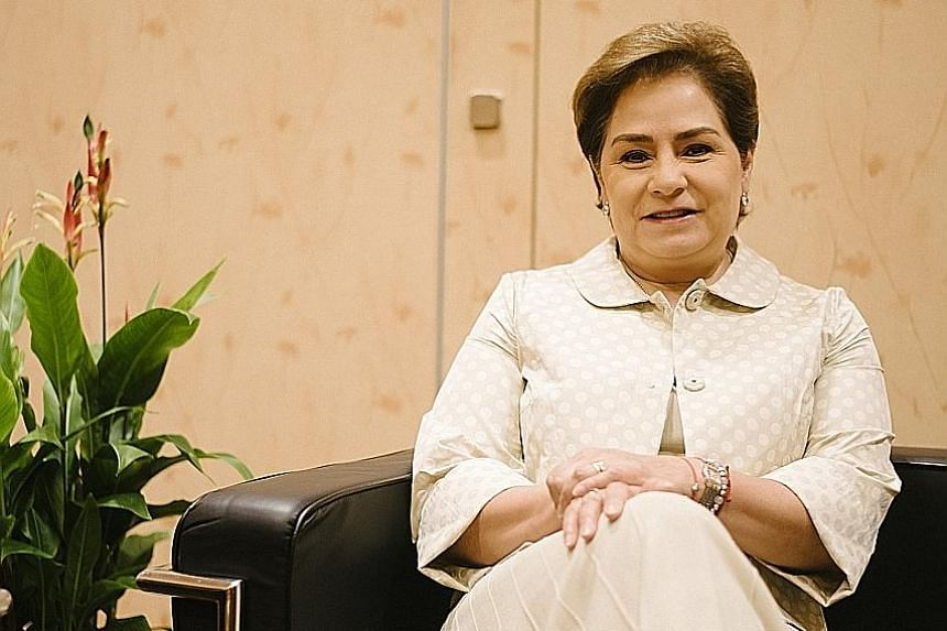 Ms Patricia Espinosa, executive secretary of the UN Framework Convention on Climate Change, is hopeful of getting a deal in December.