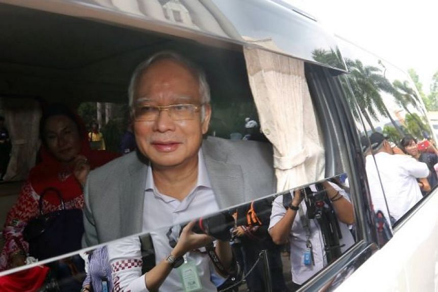 Former Malaysian premier Najib Razak said he realised his account was frozen only when a cheque issued to pay for his daughter's medical treatment bounced.
