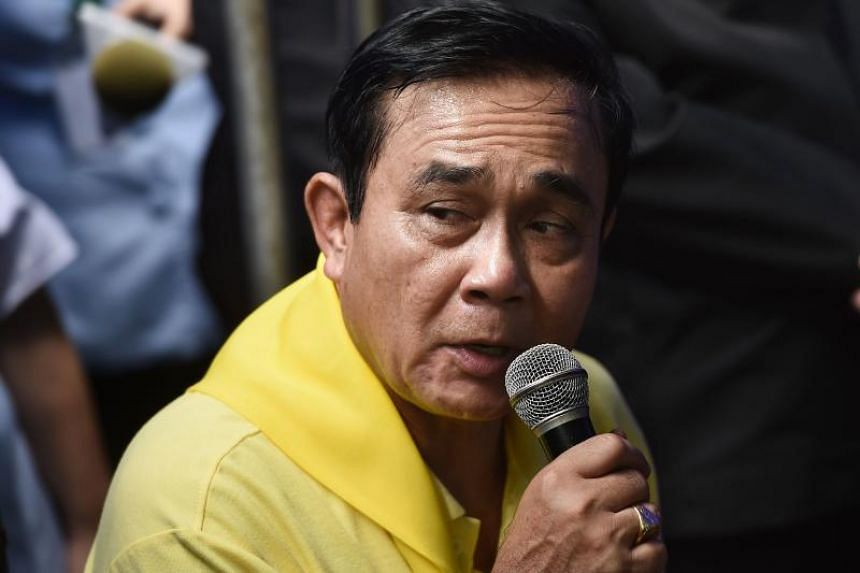 """In the speech which lasted 3.45 minutes, Thailand's Prime Minister Prayut Chan-o-cha extended his """"sincerest gratitude"""" to all who had been involved in the 17-day operation."""