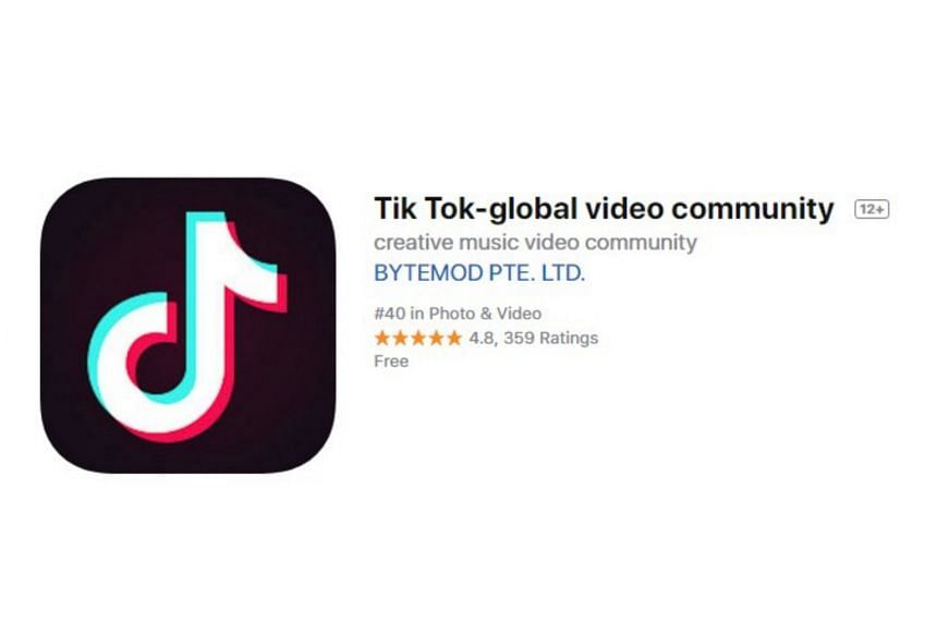 Tik Tok, the most downloaded app globally on Apple Inc's app store in January-March, is popular among young people for its homemade music videos.