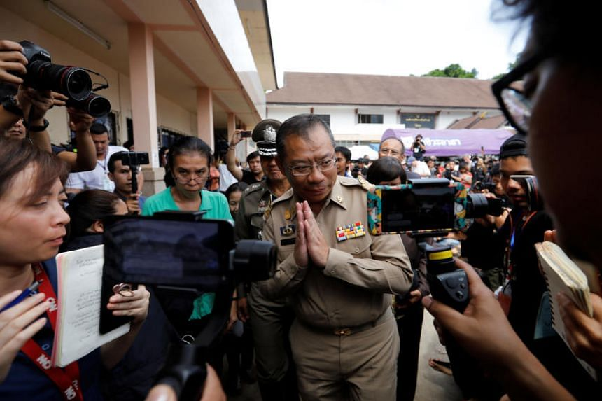 Mission chief Narongsak Osottanakorn said rescuers had to be confident before they attempted the daring rescue through narrow tunnels and murky waters.