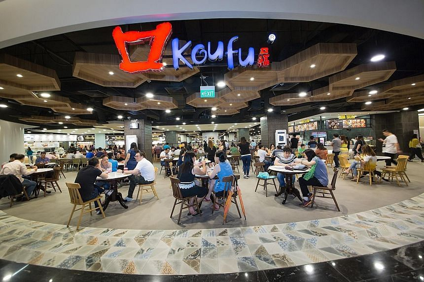 Koufu has taken various steps to raise productivity, including deploying more than 45 smart tray return robots at 16 foodcourts and coffee shops.