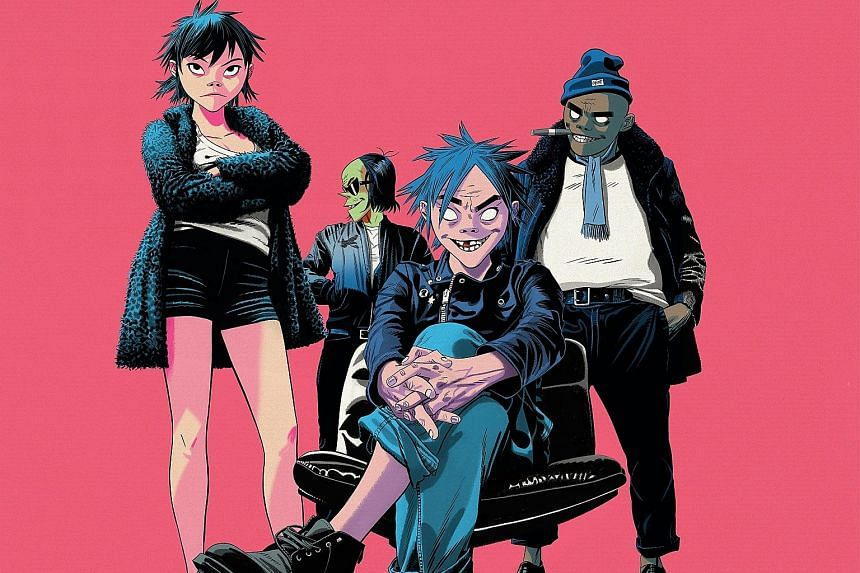 Gorillaz mark their 20th anniversary with The Now Now, their sixth full-length album.