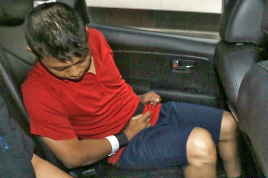 Mohamad Jonit Adnan stabbed his wife more than 30 times in their Yishun Ring Road flat on Aug 13, 2016.