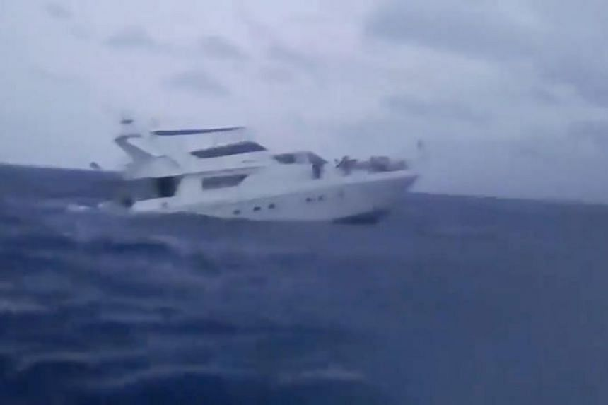 The Phoenix had 101 on board when it went down in rough seas off Phuket on July 5, 2018.