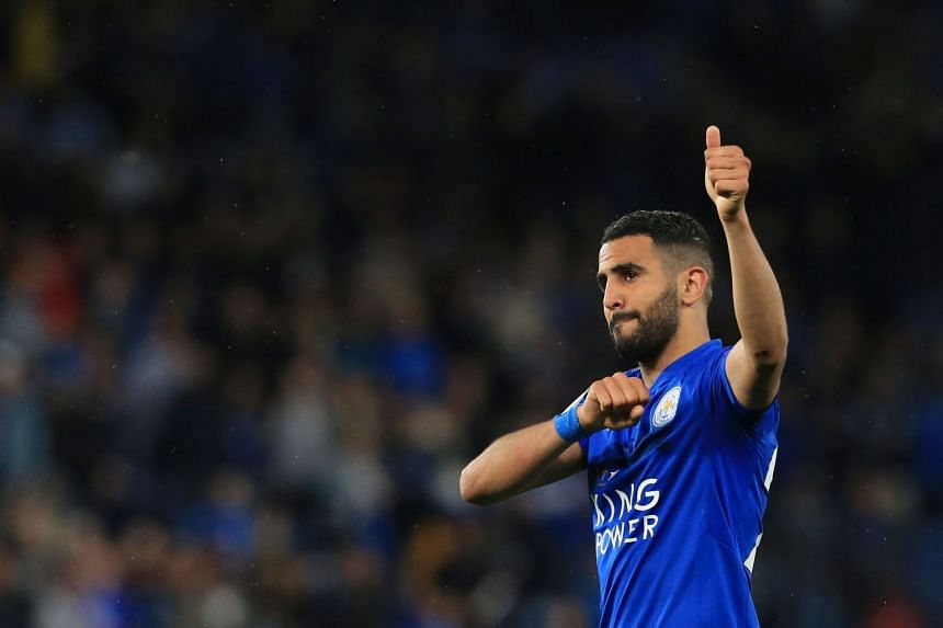 Mahrez,(above) was pivotal to Leicester's extraordinary title win in 2016, contributing 17 goals.