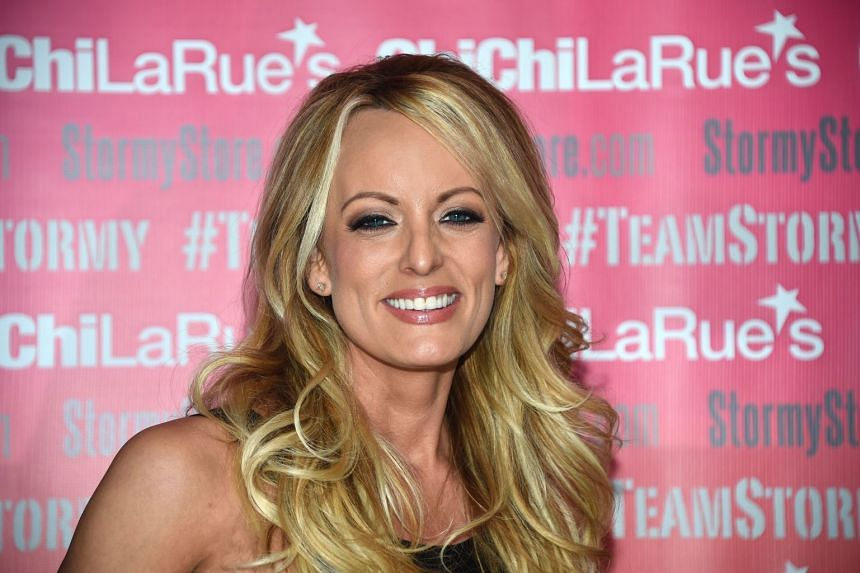 Adult film star Stormy Daniels was arrested for allegedly allowing a customer to touch her in a non-sexual way while on stage at a club in Columbus, Ohio, said her lawyer Michael Avenatti on Twitter.
