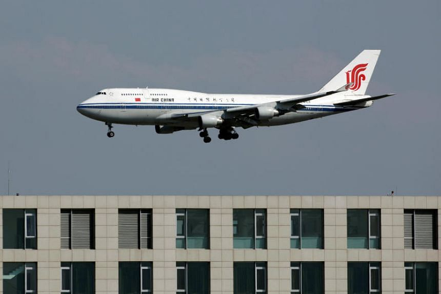 File picture of an Air China Boeing 747 passenger jet. An Air China aircraft made an emergency descent to 10,000 feet (3,048m) on July 10, 2018, with 153 passengers and nine crew members on board.