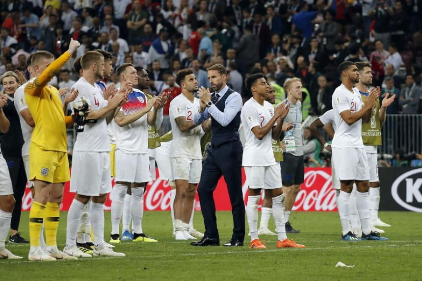 The Three Lions' hopes of reaching only their second World Cup final were dashed by Croatia.