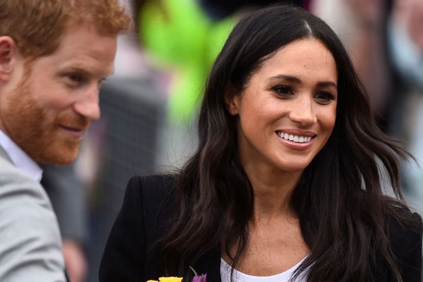 Britain's Prince Harry and Meghan, the Duchess of Sussex, during a visit to Ireland on July 11, 2018.