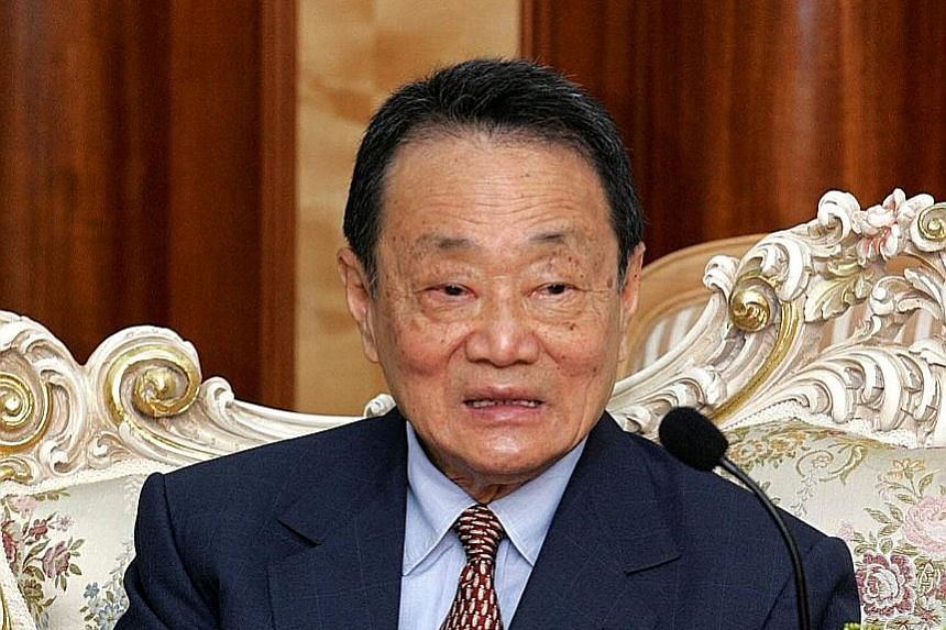 The two listed groups are linked to Malaysia's richest tycoon Robert Kuok.