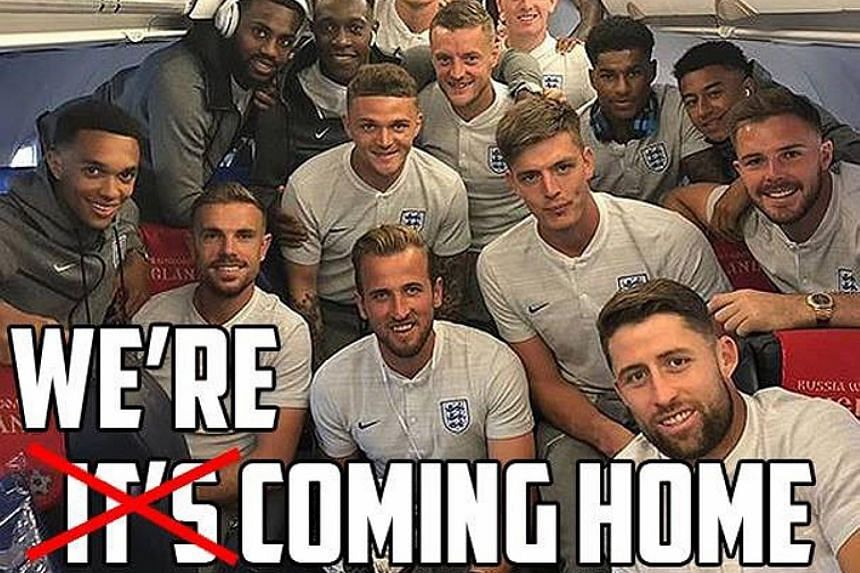 MEME-ORABLE They're coming home. Not the World Cup trophy, but the Three Lions, after nearly a month of exhilarating showings in Russia captured the imagination of a nation embroiled in political upheaval. CAUGHT ON CAMERA The Zagreb fire department