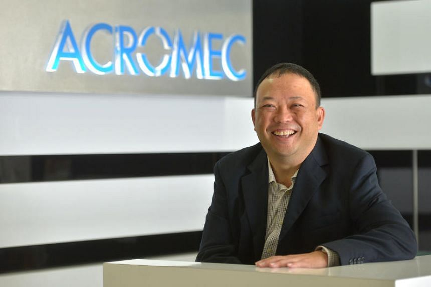 Acromec executive chairman and managing director Lim Say Chin said he sees increasing growth in demand for its services from private medical centres.