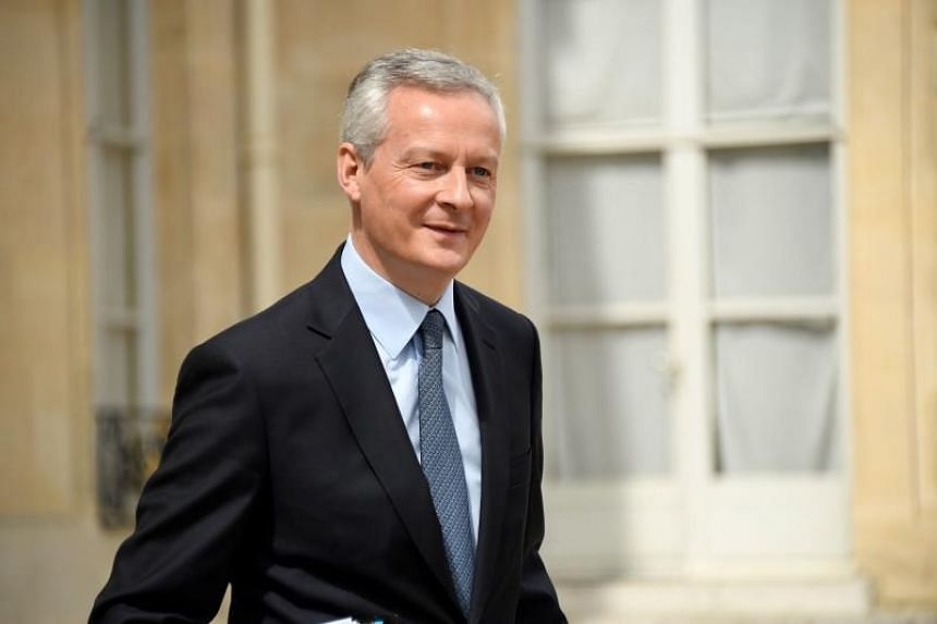French Finance Minister Bruno Le Maire said Europe needed to react quickly and protect its economic sovereignty.