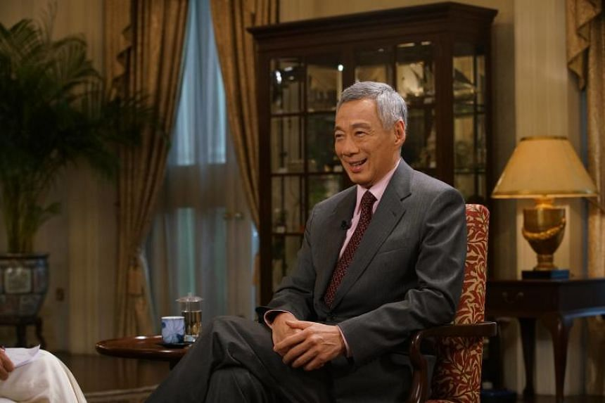 Prime Minister Lee Hsien Loong at an interview with CNN on June 11, 2018.