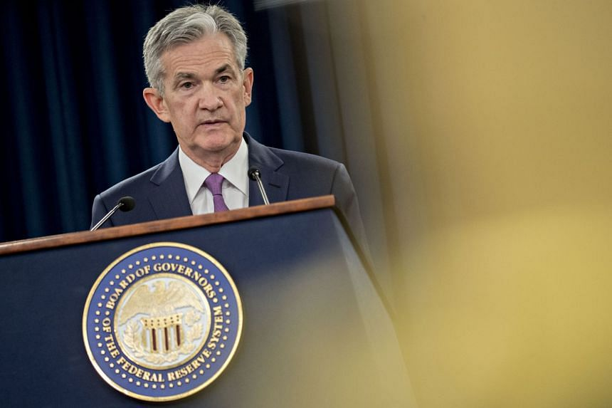 It is the Fed's second submission to lawmakers since Chairman Jerome Powell (above) took the helm of the Fed.