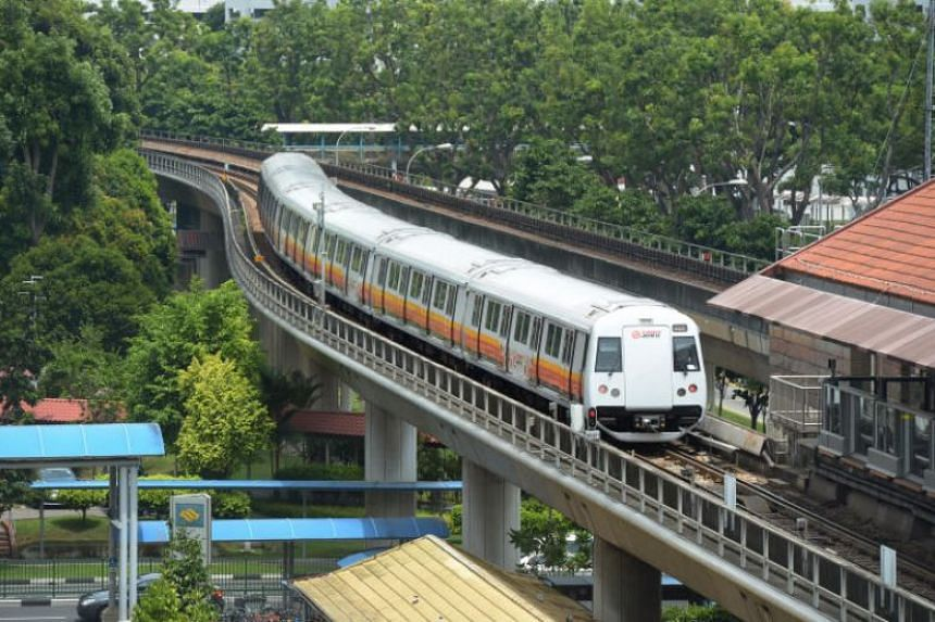 SMRT was responding to queries from The Straits Times about a statement it sent to one of several commuters who had complained about a burning smell on trains and station platforms.