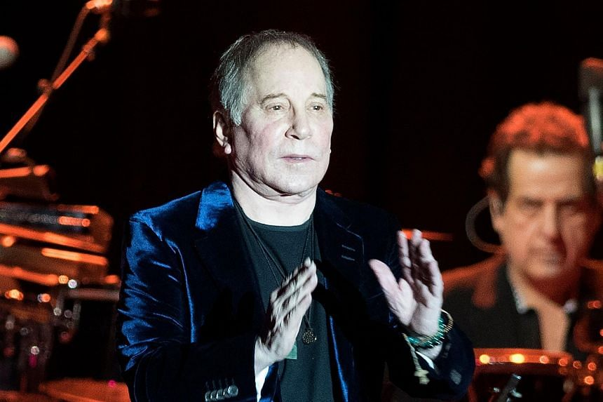 US singer Paul Simon performing in Barakaldo, Spain. He is set to release new versions of previous hits in an upcoming album as he prepares to retire from touring.