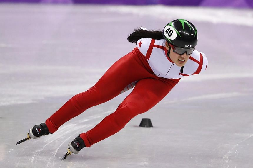 Winter Games speed skater, Cheyenne Goh, was coached by South Korean Chun Lee-kyung, who is a four-time Olympic gold medallist.