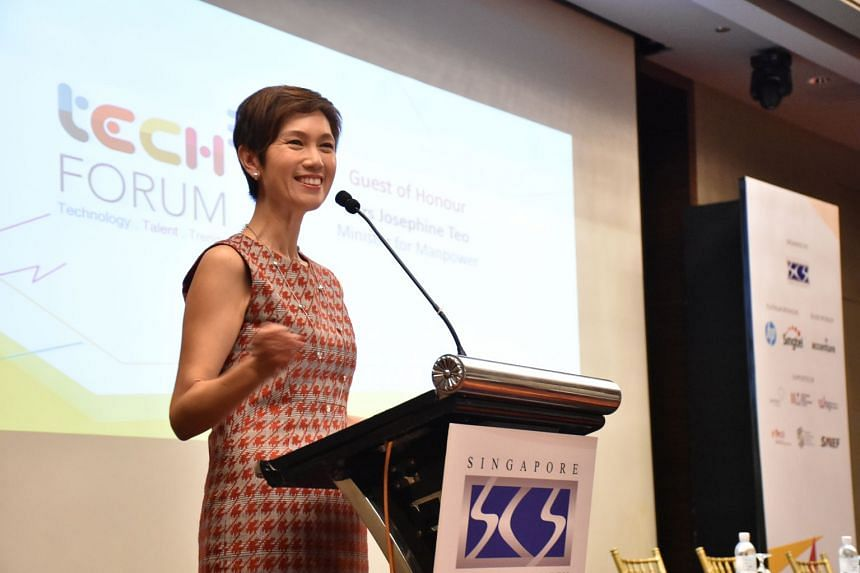 Manpower Minister Josephine Teo described the Digital Proficiency Programme as a step towards building an agile workforce needed to meet future challenges.