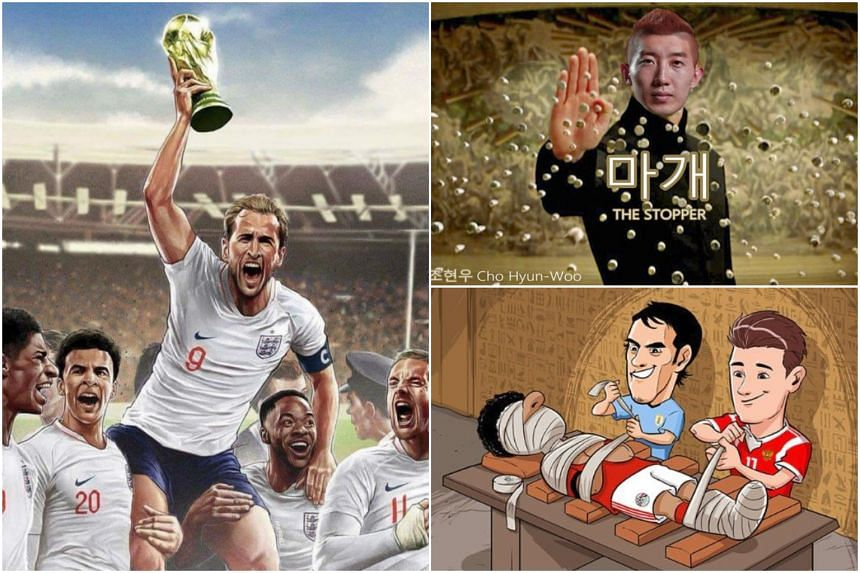 Some Of The Memes That Have Spawned From The June  To July  World Cup