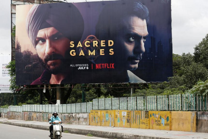 Netflix's new TV series Sacred Games is a thriller set in Mumbai with a cast of police officers, spies and politicians.