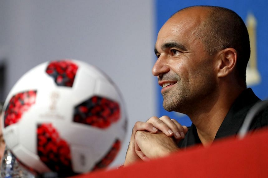 Martinez during the press conference in St Petersburg, Russia.