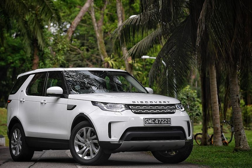 Starting up the latest Land Rover Discovery 2.0 is like waking a sleepy full-grown rhinoceros.