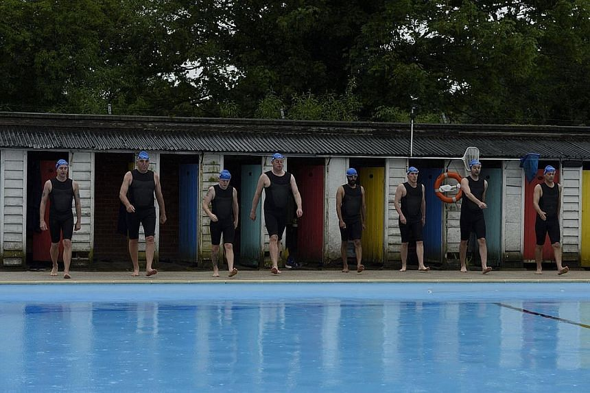 Swimming With Men, about middle-aged men trying to reclaim their lives, hardly makes a splash.