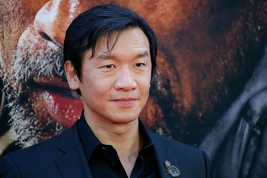 Actor Ng Chin Han (above) and film-maker Tan Pin Pin (left) will be eligible to vote in the Oscars.