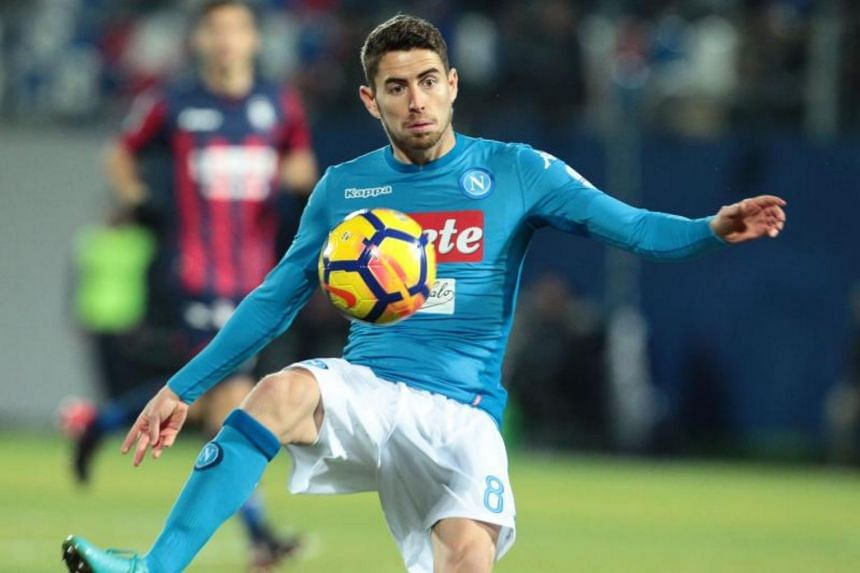 Chelsea did not disclose financial details but British media reports said that the deal for Jorginho was worth in the region of £57 million (S$103 million).