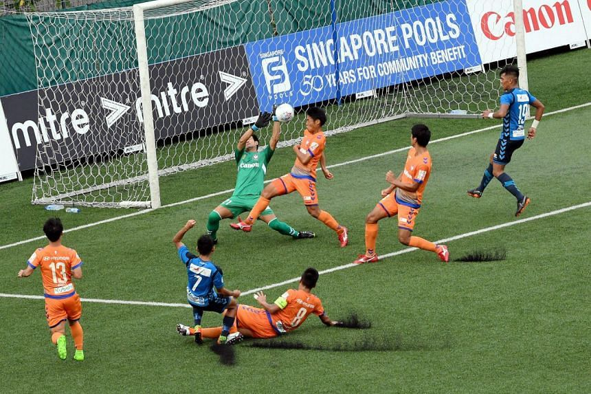 Albirex Niigata beat their closest rivals Tampines Rovers 2-1 on July 14, 2018.
