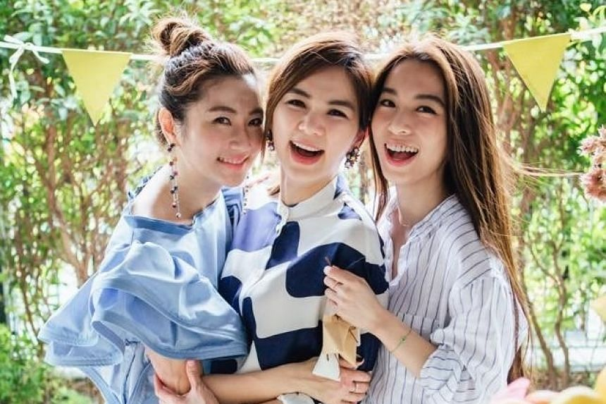Taiwanese reports say one of the members, Ella Chen (center), is planning to leave their record company HIM International Music after her contract expires in October.